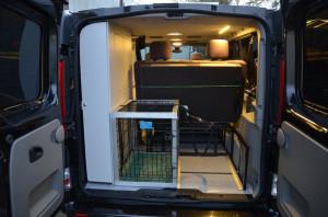 BusKamper do przewozu zwierząt